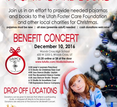 Dance For Life Donations and Concert