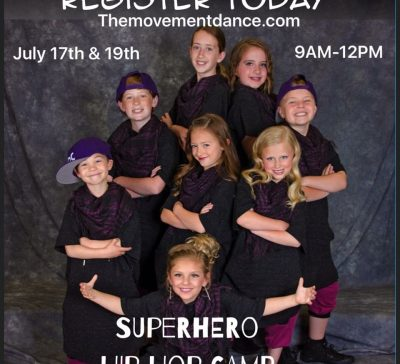 Super Hero Dance Camp
