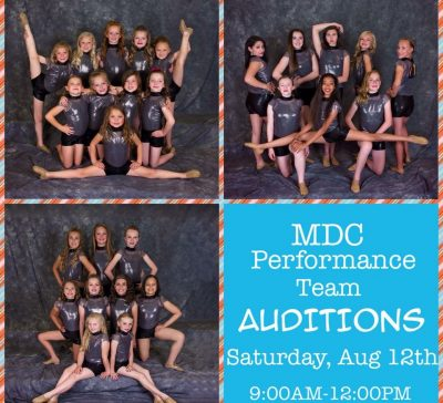 Performance Team Auditions are coming!