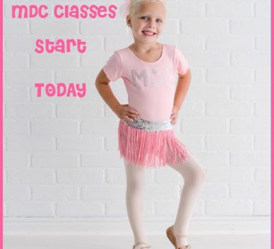 DANCE classes start TONIGHT at MDC